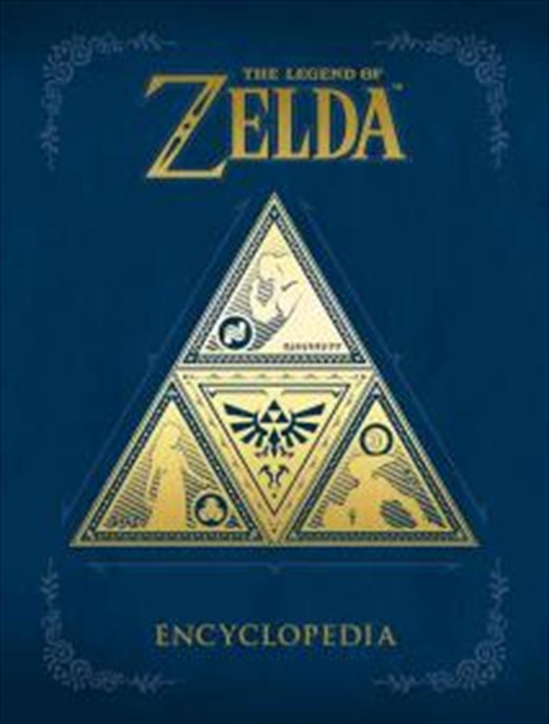 The Legend Of Zelda Encyclopedia   Books
