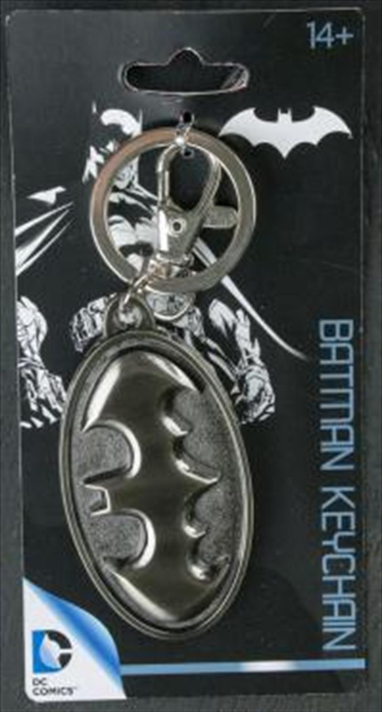 Batman - Batman Logo Pewter Keychain | Accessories