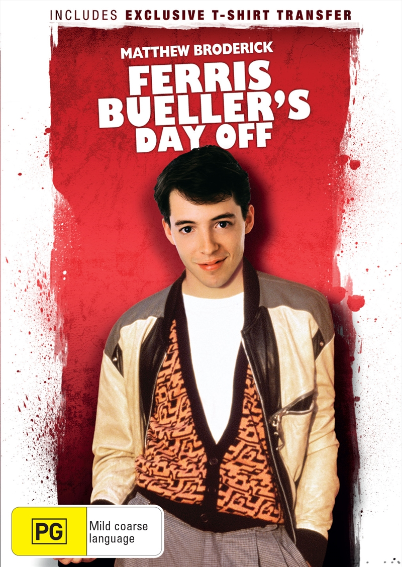 Ferris Buellers Day Off - Sanity Exclusive | DVD