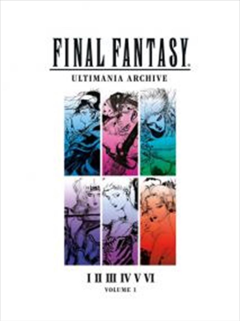 Final Fantasy - Ultimania Volume 1 Book | Books