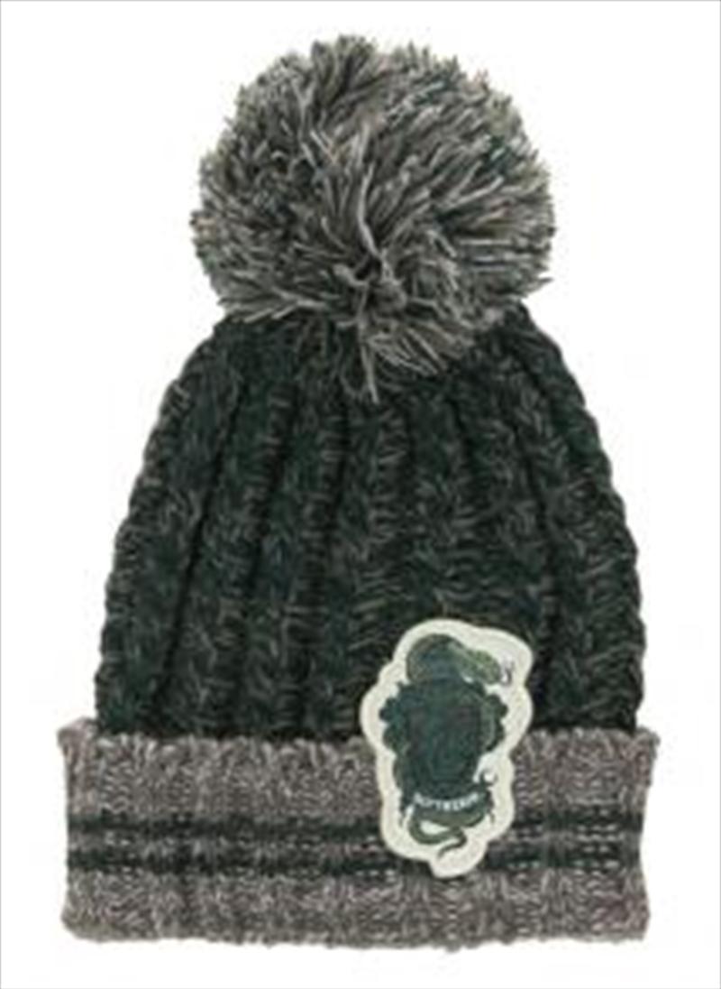 Slytherin Heathered Pom Beanie | Apparel