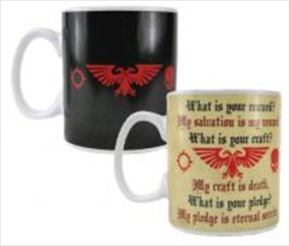Pledge Heat Change Mug | Merchandise