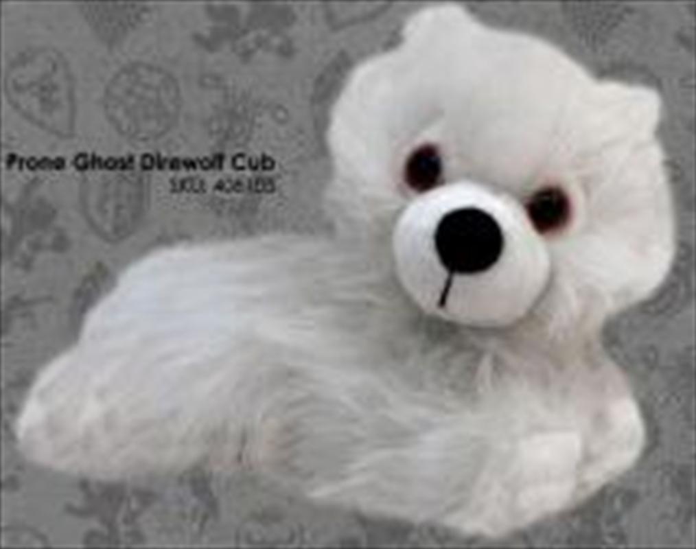 Ghost Direwolf Cub Prone | Toy