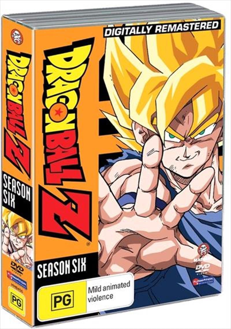 Dragon Ball Z - Season 6 - Remastered - Uncut | DVD