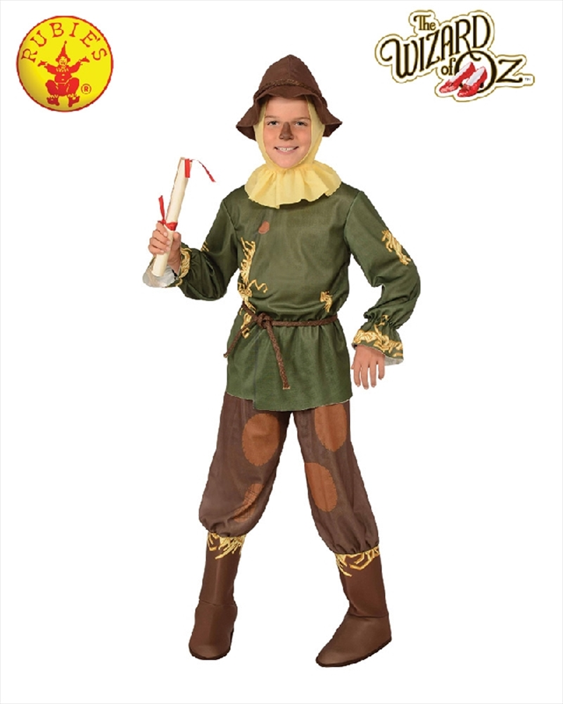 Wizard Of Oz Scarecrow Costume - Size S 3-4 Yrs   Apparel