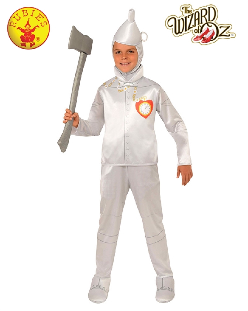 Tin Man Deluxe Child Costume - Size S | Apparel