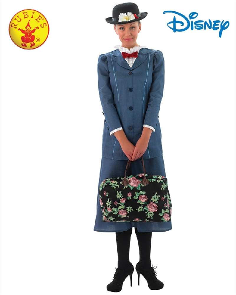 Mary Poppins Deluxe Costume - Size M | Apparel