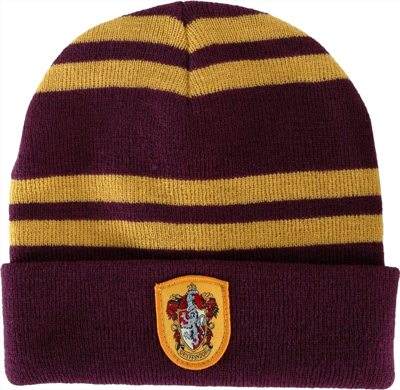 Harry Potter - Gryffindor House Beanie | Apparel