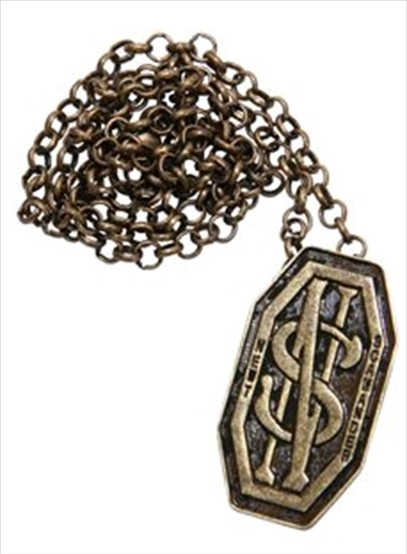 Fantastic Beasts and Where to Find Them - Newt's Monogram Necklace / Pin | Merchandise