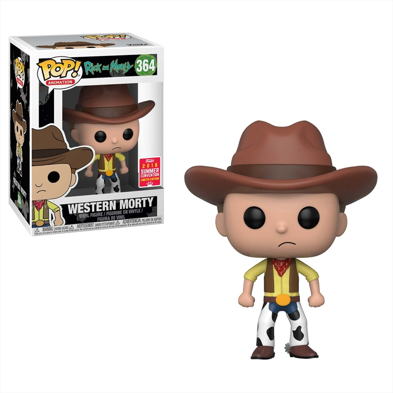 Rick And Morty - Western Morty SDCC18 | Pop Vinyl