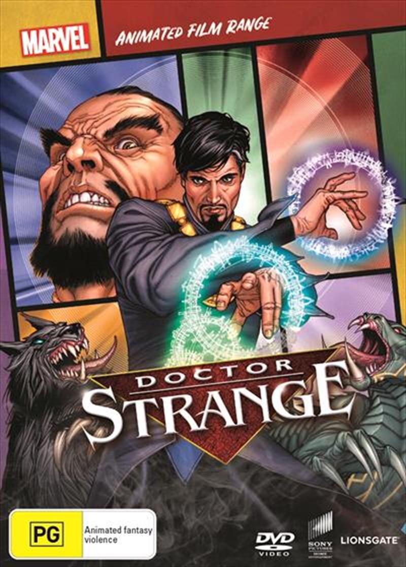 Doctor Strange - The Sorcerer Supreme | Marvel Feature Range | DVD