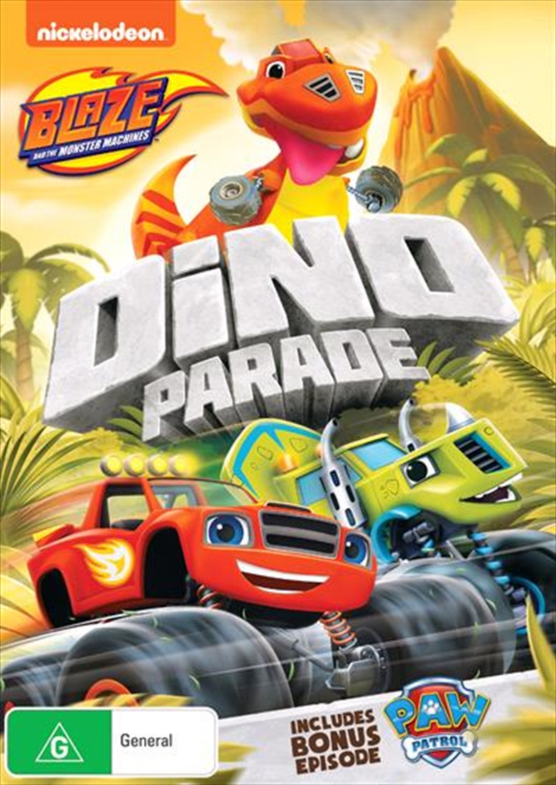 Blaze And The Monster Machines - Dino Parade | DVD