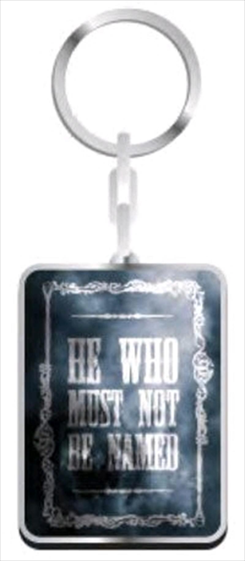 Harry Potter - Voldemort Keyring | Accessories