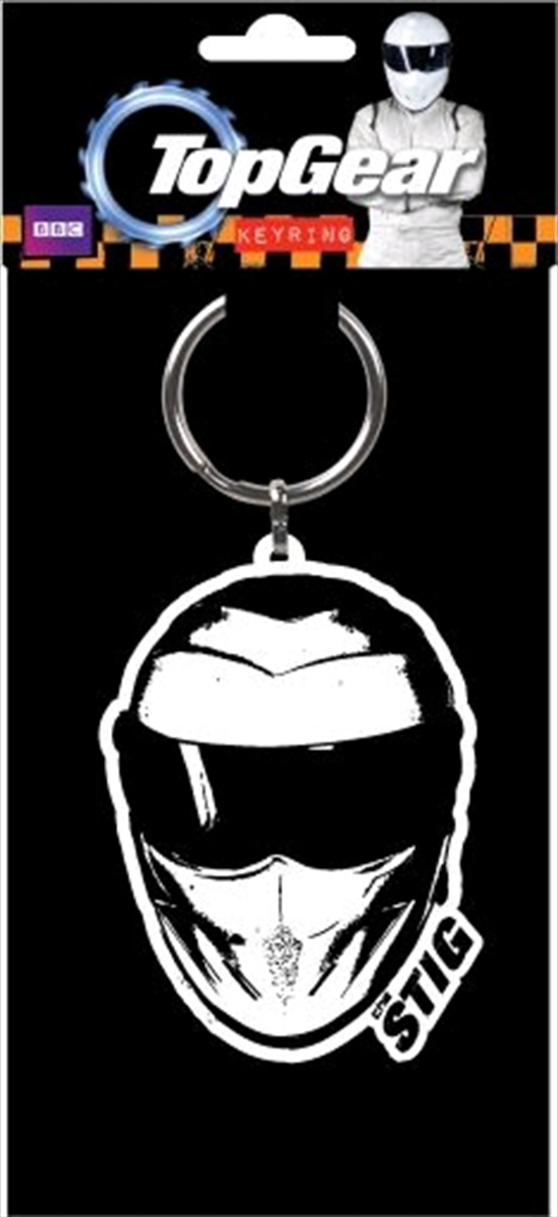Top Gear - The Stig Flexible Keyring   Accessories