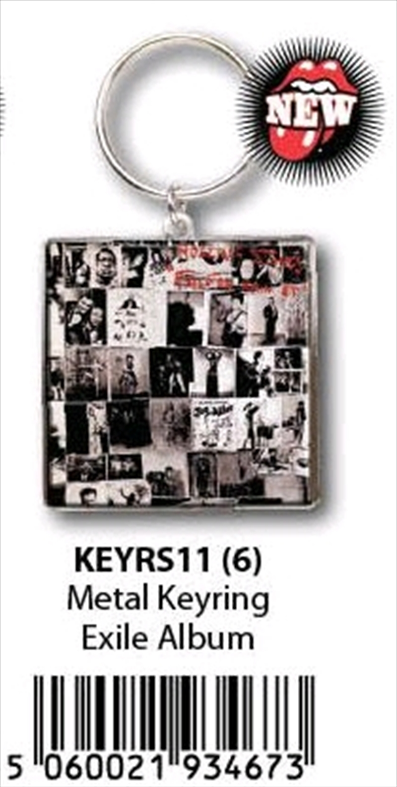 The Rolling Stones - KeyRing Exile On Main Street Alb   Accessories