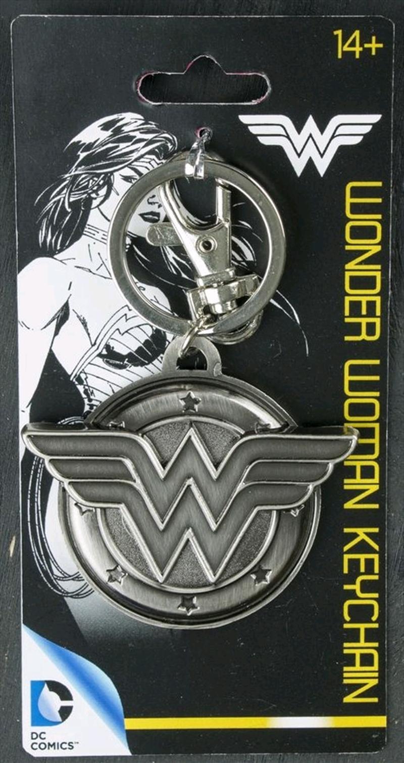 Wonder Woman - Wonder Woman Logo Pewter Keychain   Accessories