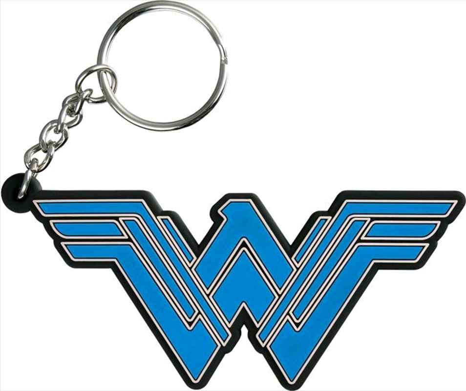 Wonder Woman Movie - Logo PVC Keychain | Accessories