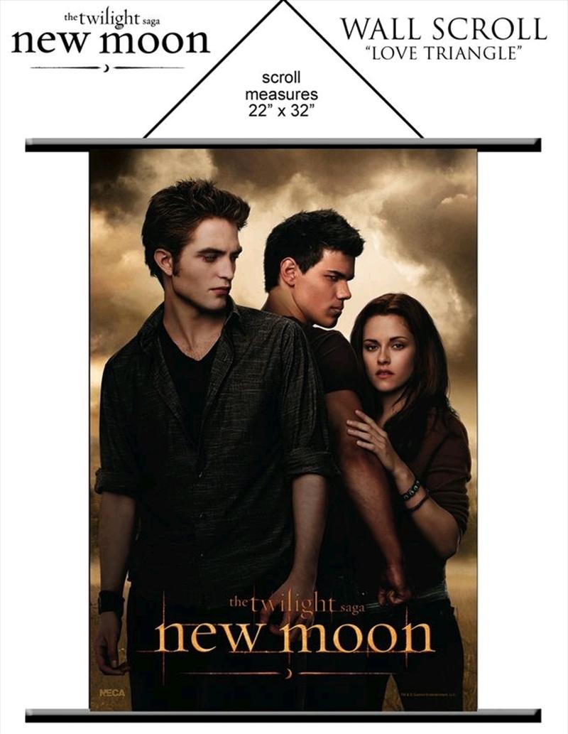 The Twilight Saga: New Moon - Wall Scroll Love Triangle   Merchandise