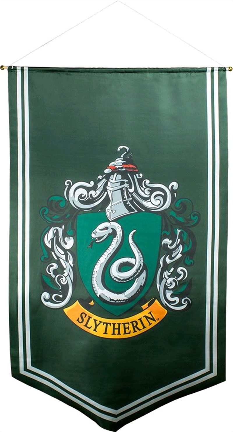 Harry Potter - Slytherin Satin Banner | Merchandise