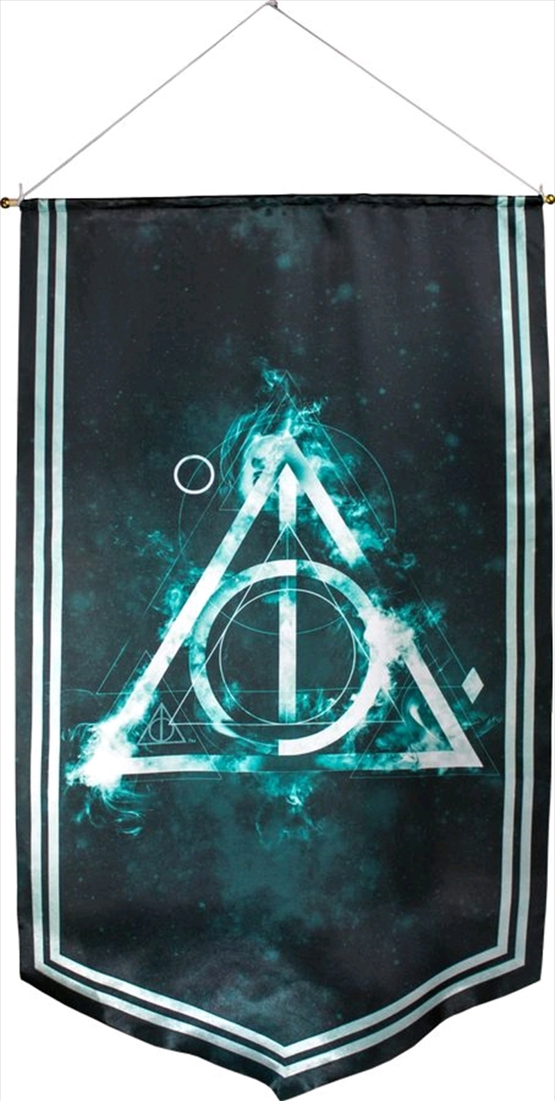 Harry Potter - Deathly Hallows Satin Banner | Merchandise