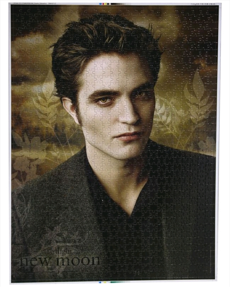 Twilight Saga: New Moon - 1000 Piece Jigsaw Puzzle Edward | Merchandise