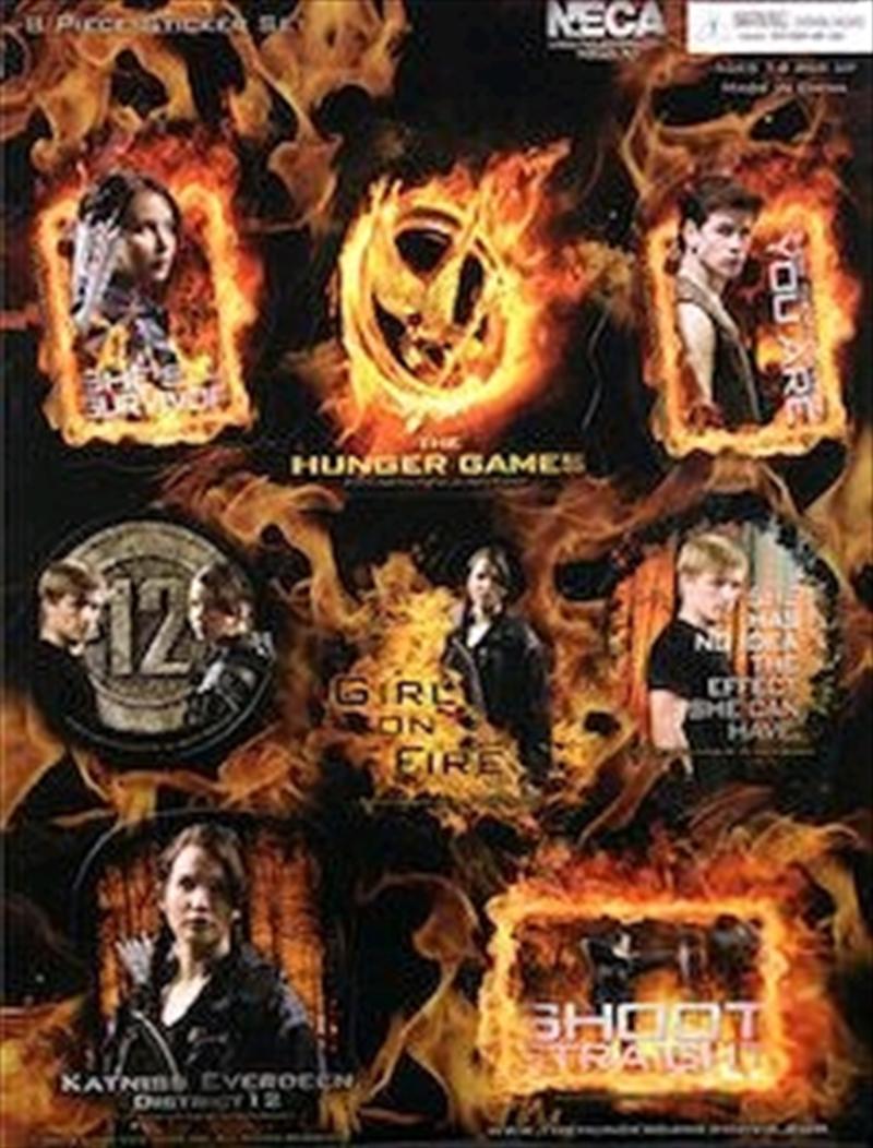 The Hunger Games - Sticker Set 8 Piece   Merchandise