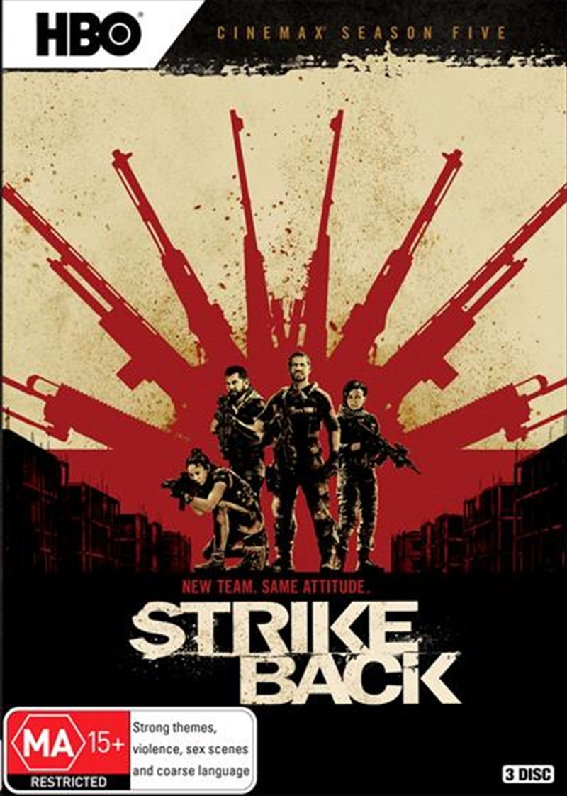 Strike Back - Season 5 | DVD