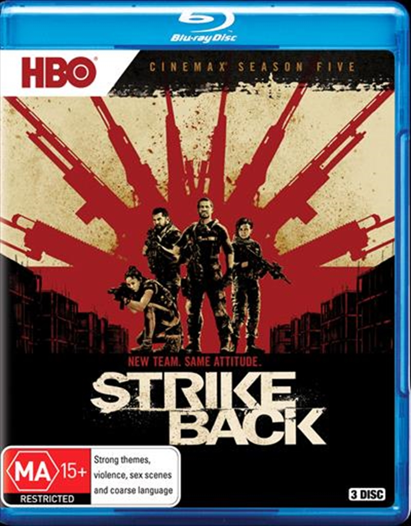 Strike Back - Season 5 | Blu-ray