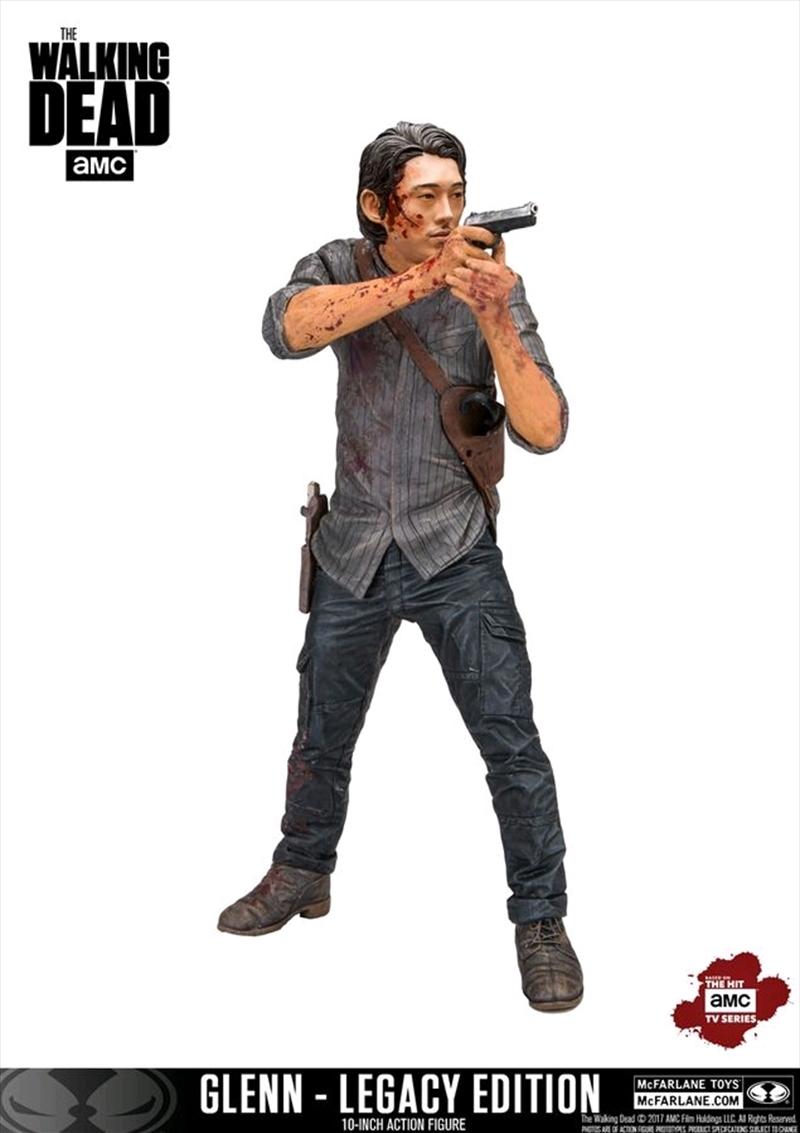 "The Walking Dead - Glenn 'Legacy' Edition 10"" Action Figure   Merchandise"