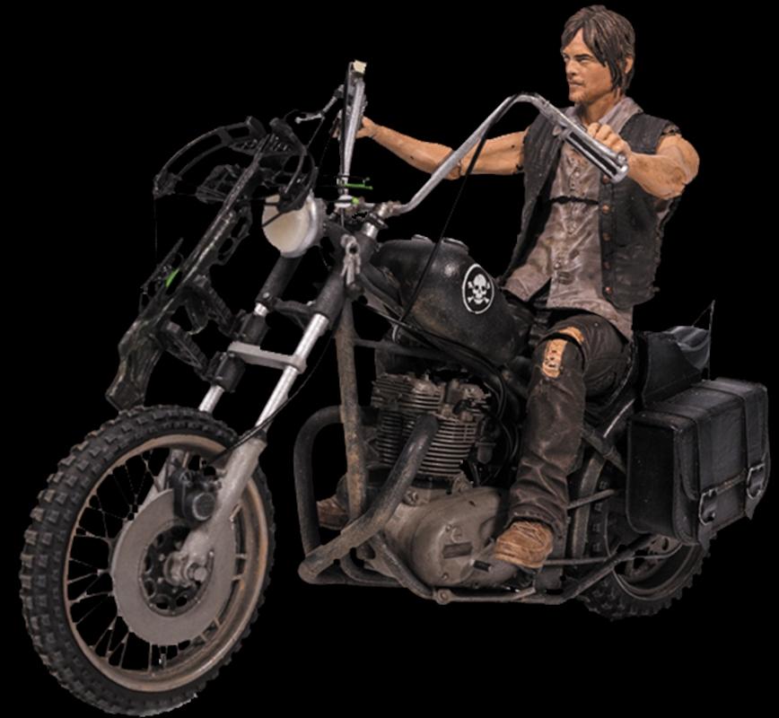 The Walking Dead - Daryl Dixon with Chopper Action Figure Set | Merchandise