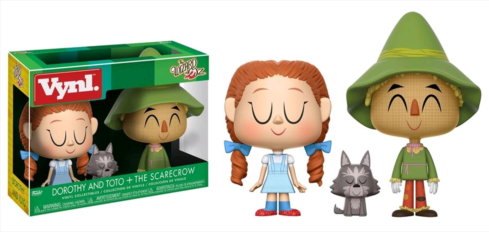 Wizard of Oz - Dorothy & Scarecrow Vynl.   Merchandise