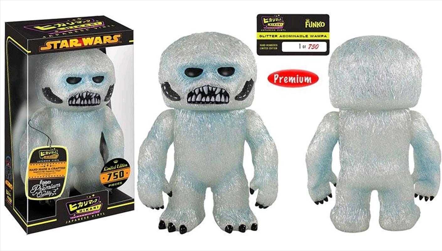 Star Wars - Wampa Glitter Abominable Hikari | Merchandise