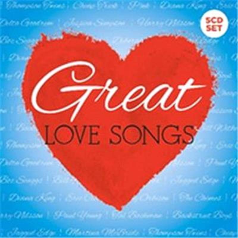Great Love Songs   CD