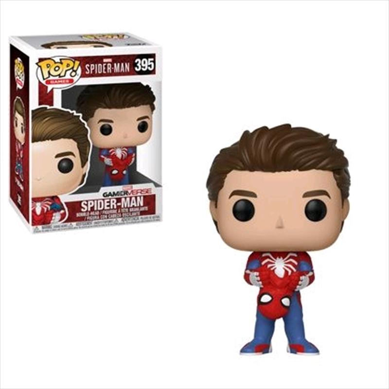 Spider-Man (Video Game 2018) - Spider-Man Unmasked Pop! Vinyl | Pop Vinyl