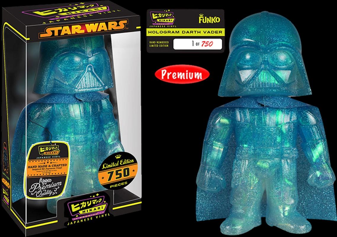Darth Vader Hologram Glitter   Merchandise
