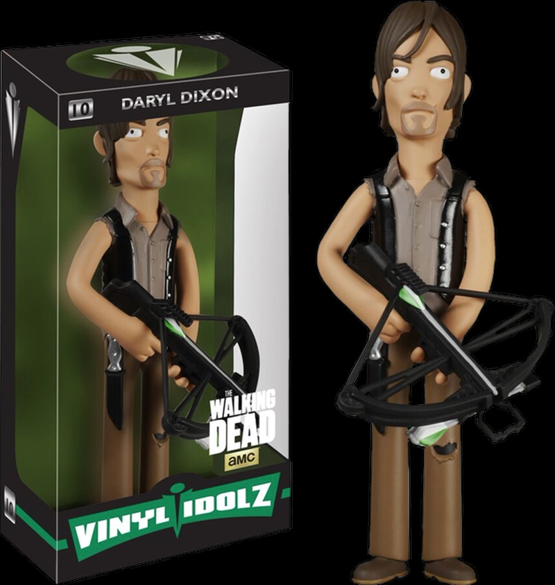The Walking Dead - Daryl Dixon Vinyl Idolz   Merchandise