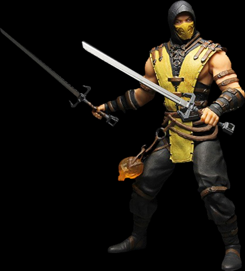"Mortal Kombat X - Scorpion 12"" Action Figure 