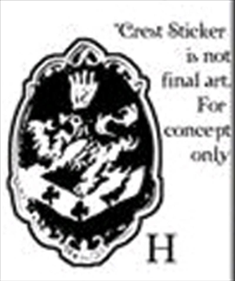 Twilight - Sticker H Cullen Crest | Accessories