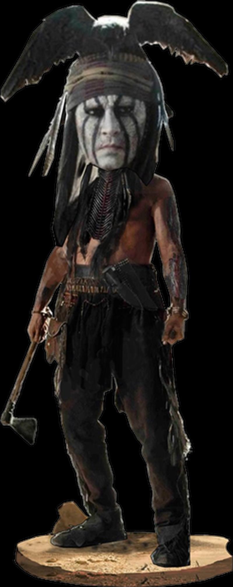 The Lone Ranger Tonto Headknocker-NEC47538