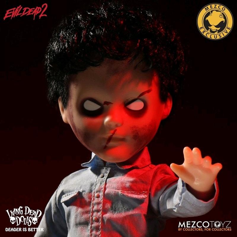 """Living Dead Dolls - Evil Dead 2 Deadite Ash 10"""" Doll   Merchandise"""