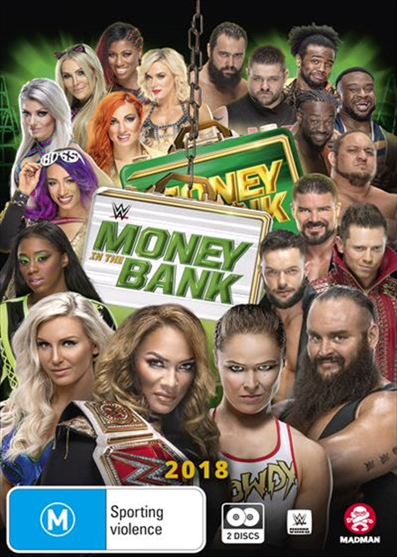 WWE - Money In The Bank 2018 | DVD