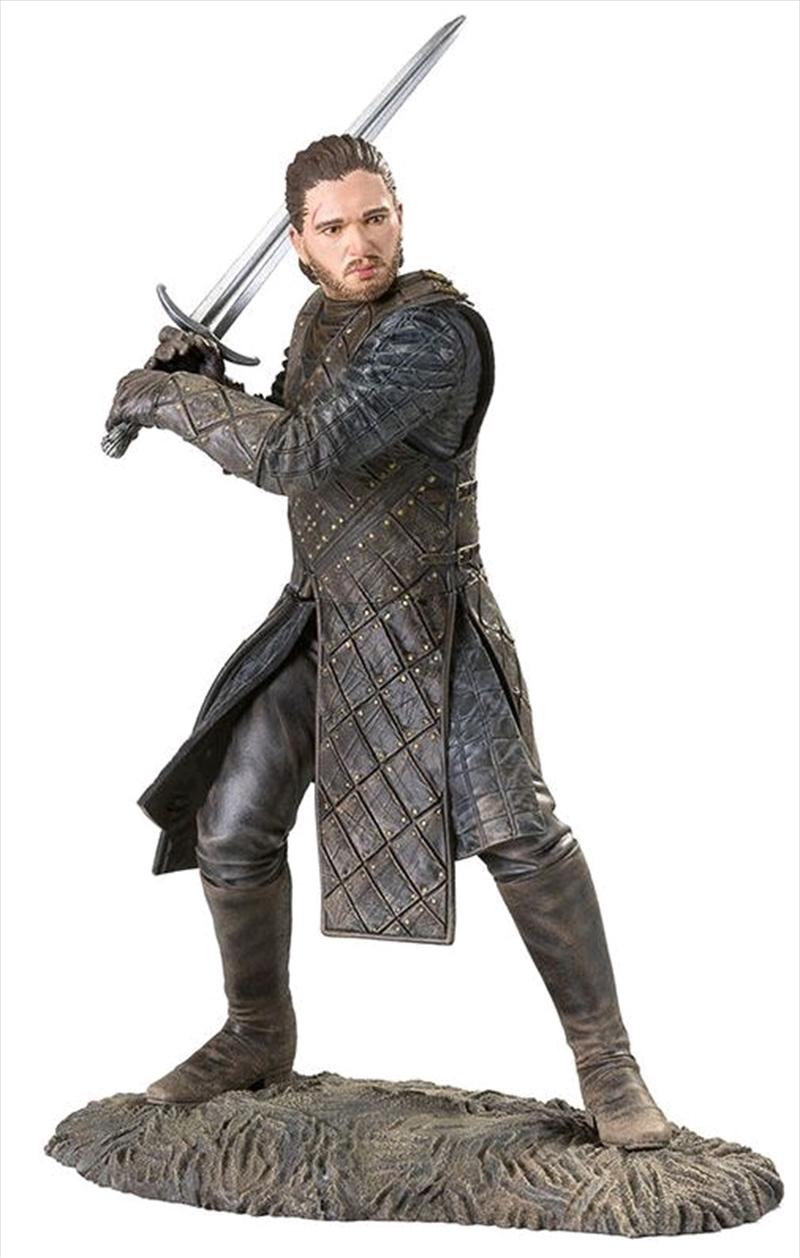Game of Thrones - Jon Snow Battle of the Bastards Statue | Merchandise