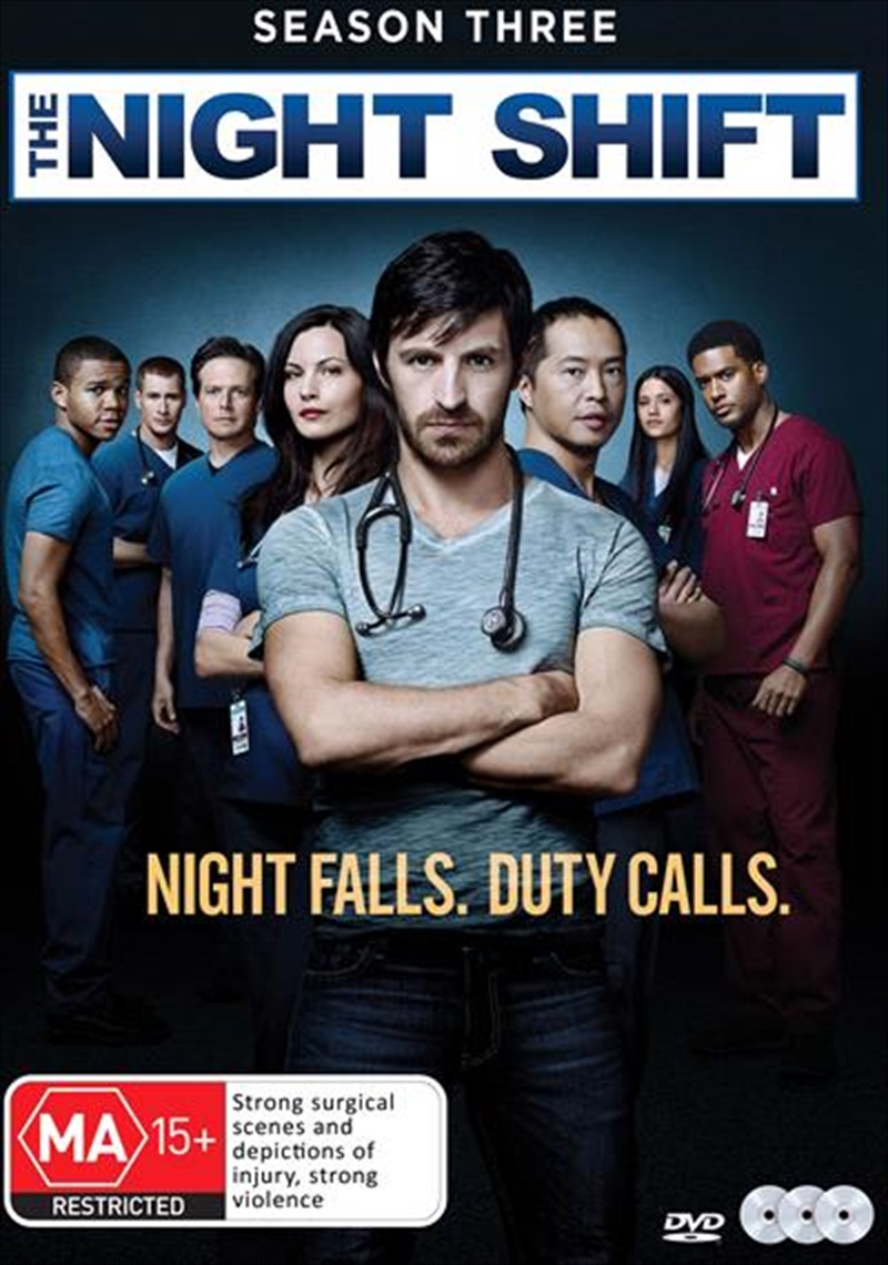 Night Shift - Season 3, The | DVD