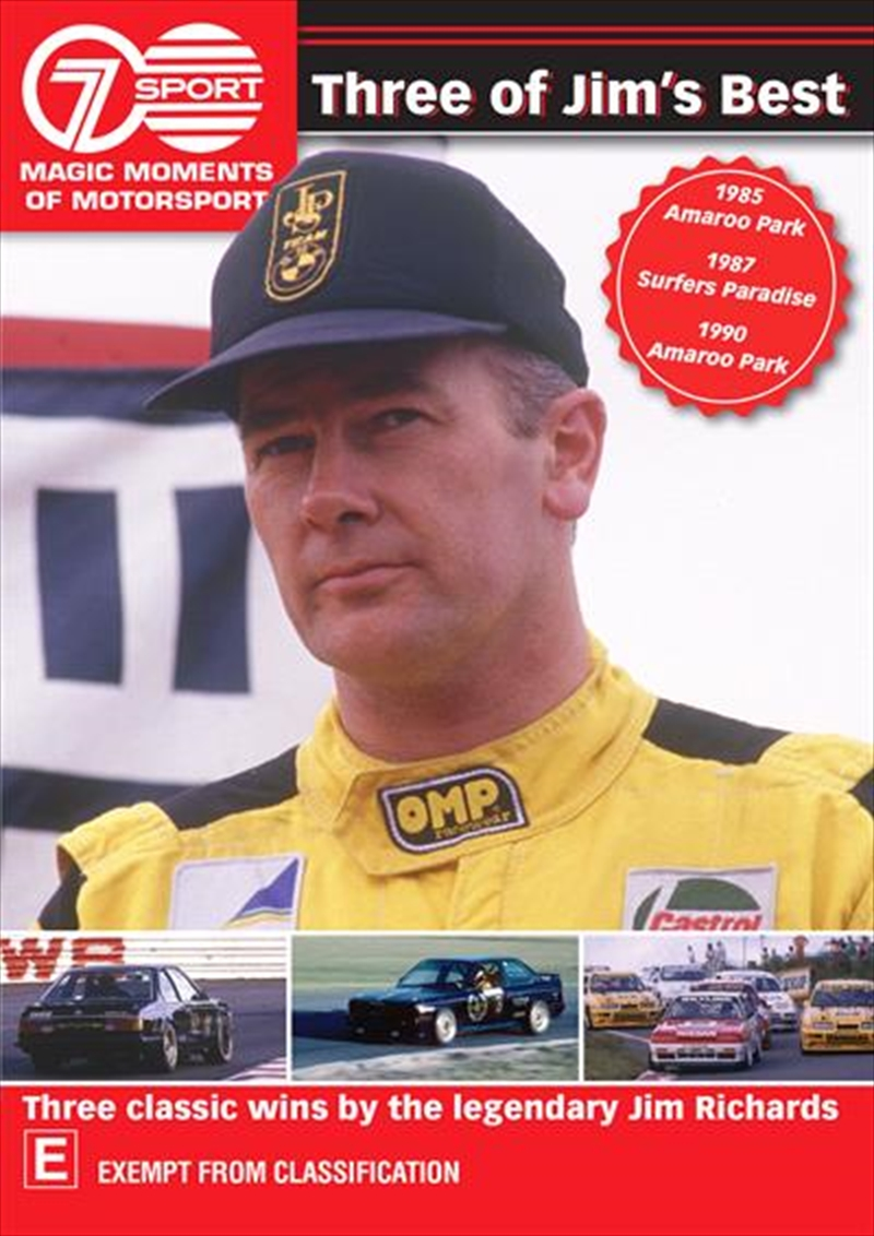 Magic Moments Of Motorsport - Three Of Jim's Best | DVD