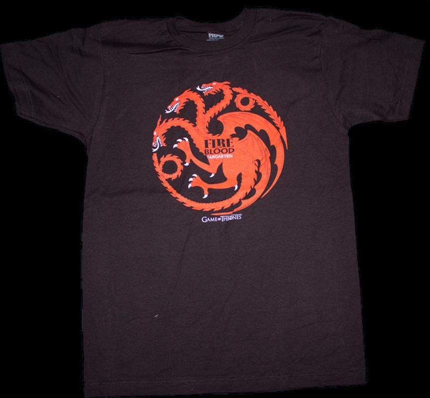 Game of Thrones - Targaryen Male T-Shirt XL | Apparel