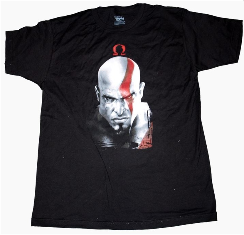 God of War - Kratos & Omega Symbol T-Shirt M | Apparel