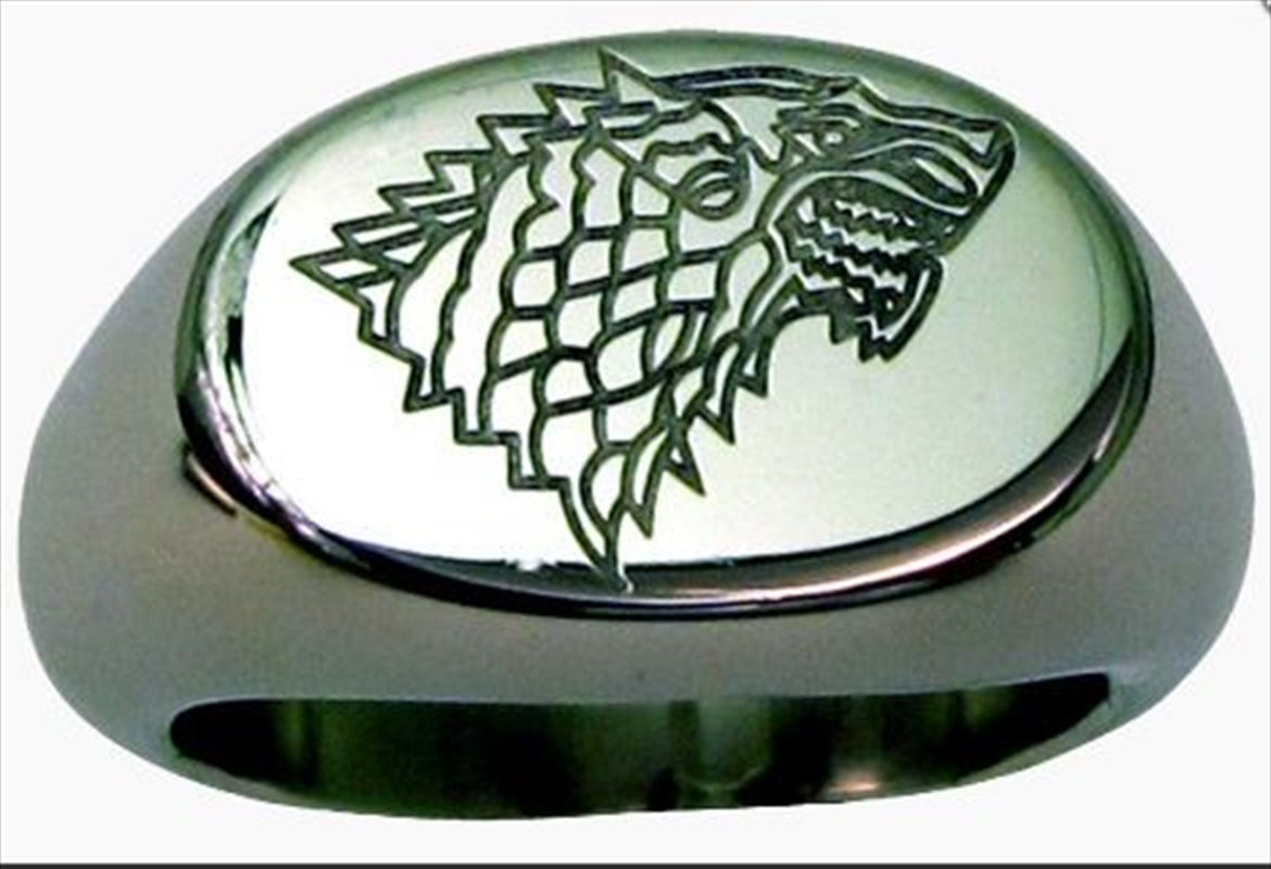 Game of Thrones - Stark Ring Size 7 | Apparel