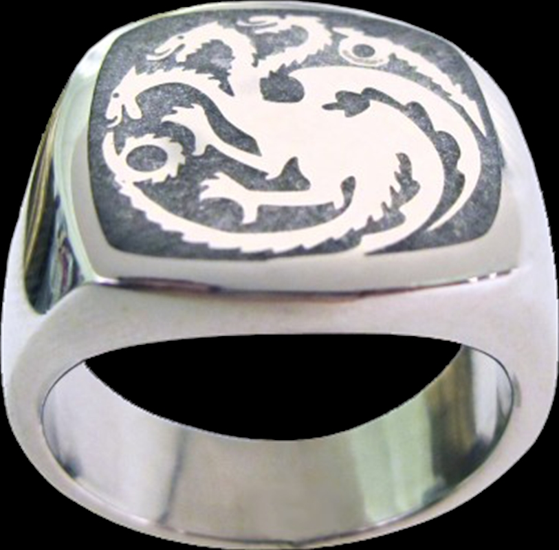 Game of Thrones - Targaryen Ring Size 7 | Apparel