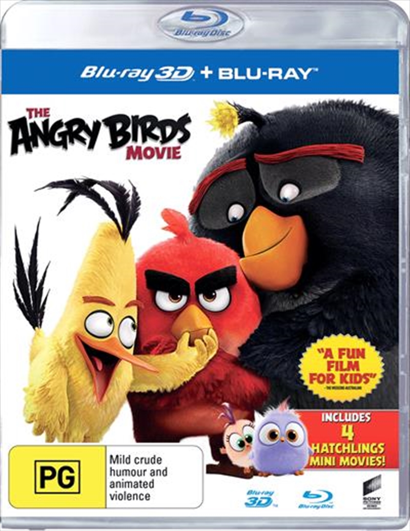 Angry Birds Movie, The | Blu-ray 3D
