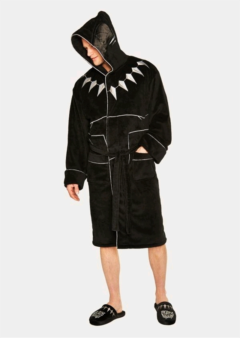 Black Panther - Fleece Bathrobe | Miscellaneous